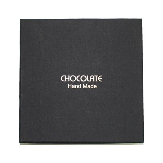 Chocolate Praline Box-Black for 9 pieces praline