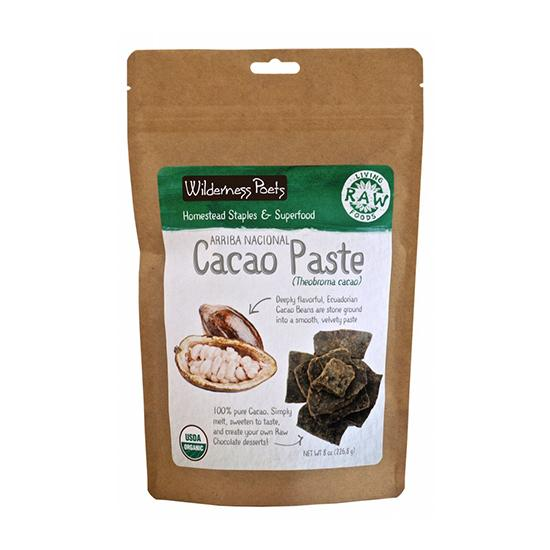 Raw Organic Cacao Paste