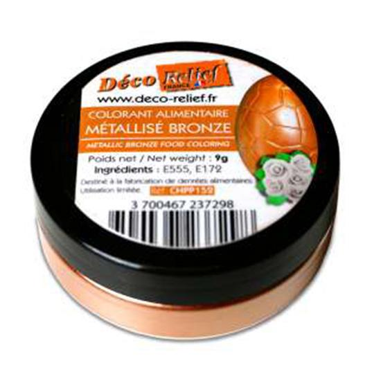 Bronze Metallic Color Powder 9gr