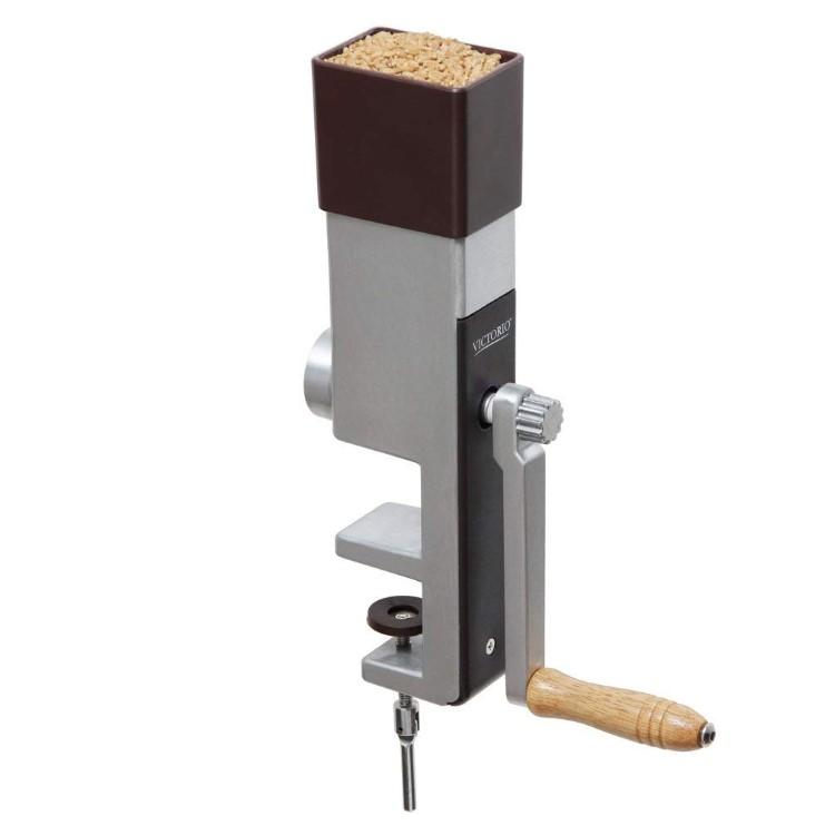 Grain Mill | Hand Crank and with Clamp Base