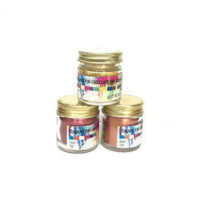 Gold edible color powder -alc. base
