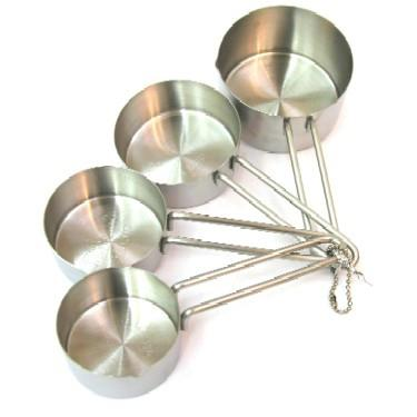 Stainless steel Measuring cup 1/4-1cup