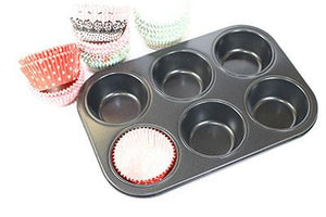 Non stick Muffin pan 6 cups