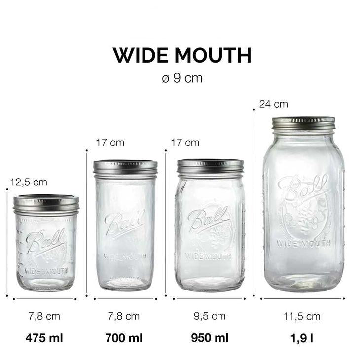 Ball Mason Jar 32oz regular mouth