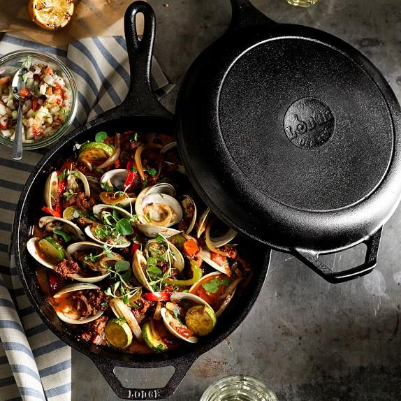 Lodge Cast Iron Combo Cooker