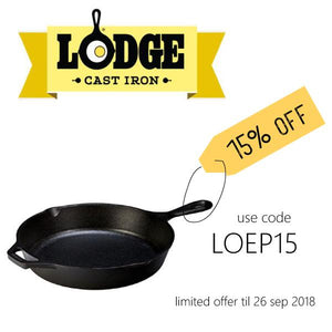 Lodge Cast Iron Square Grill Pan 10.5""