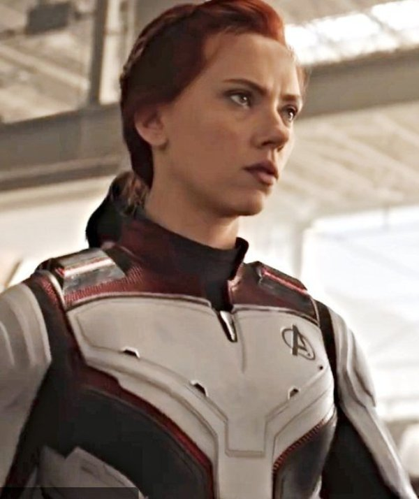 Avengers Endgame Black Widow Quantum Leather Jacket
