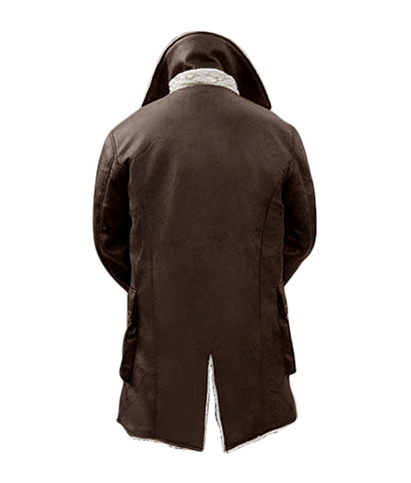 The Dark Knight Rises Bane Shearling Coat