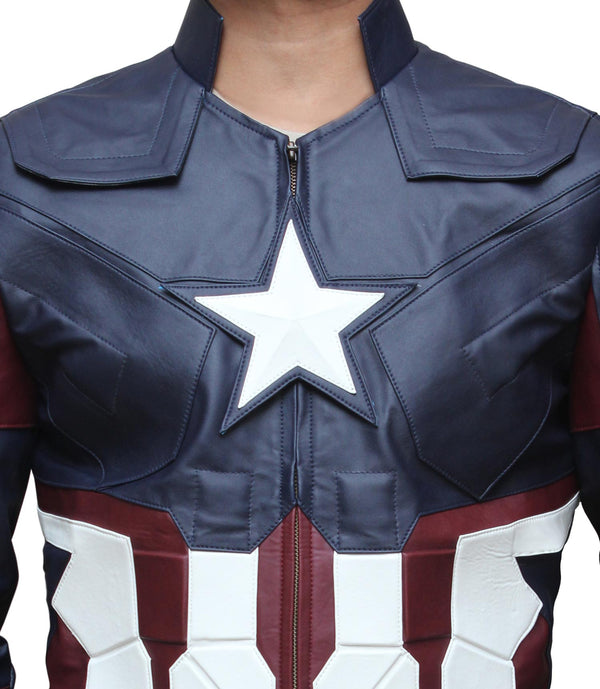 Captain America Chris Evens Jacket
