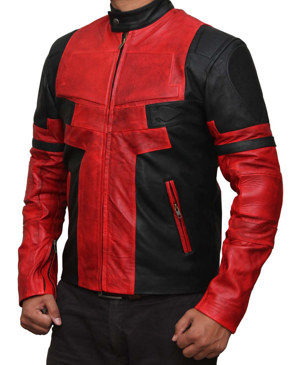 Ryan Reynolds Deadpool Leather Jacket