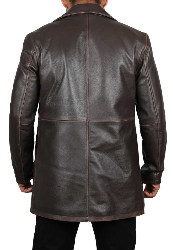 Dean Winchester Brown Leather Supernatural Jacket