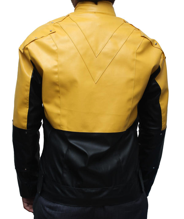 The Reverse Flash Leather Jacket