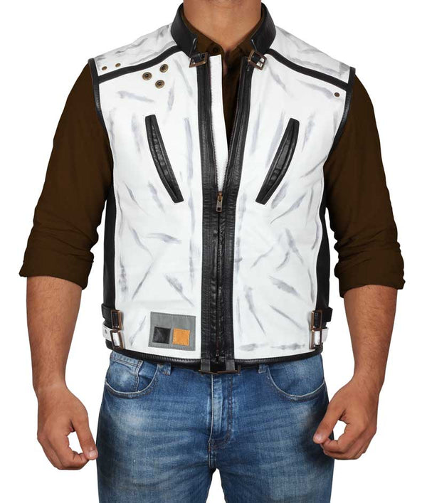 Solo a Star Wars Story White Vest