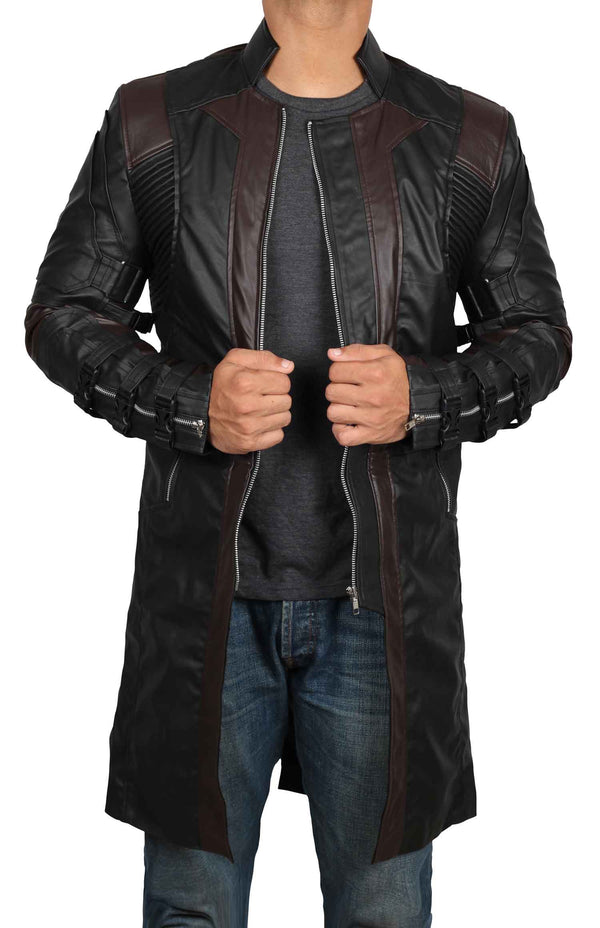 Avengers Endgame Ultron Hawkeye Trench Coat
