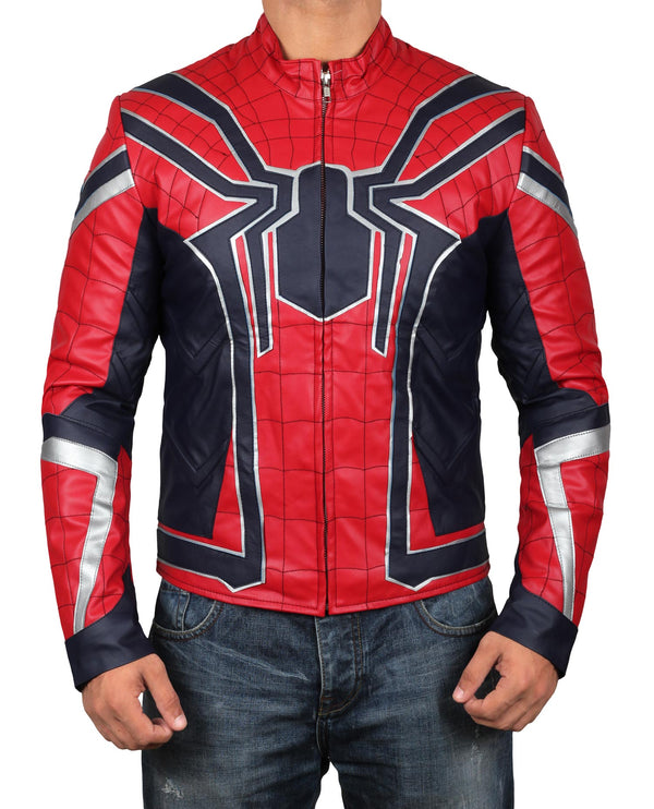 Avengers Endgame Iron Spider Leather Jacket