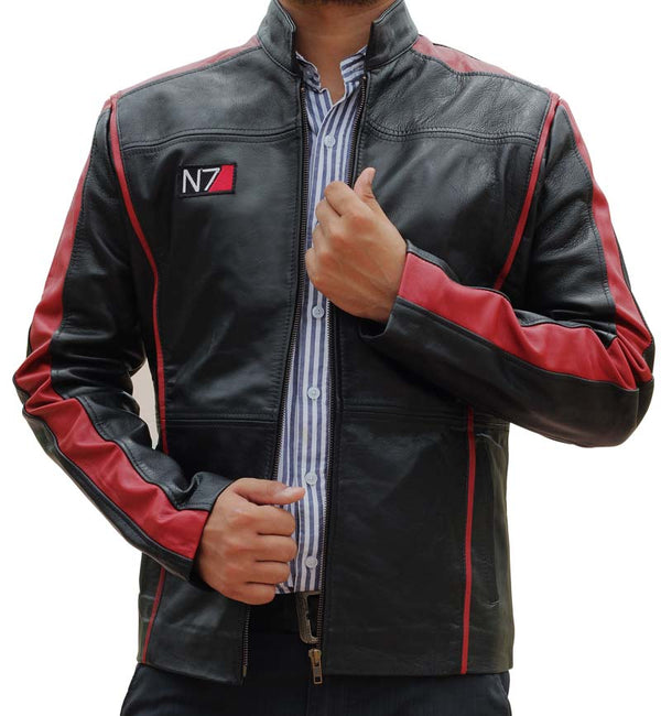 Mass Effects N7 Leather Jacket