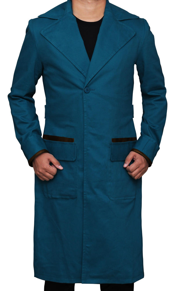 Fantastic Beasts Blue Eddie Redmayne Newt Coat