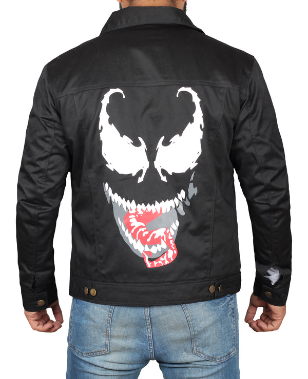 Tom Hardy Venom Black Jacket