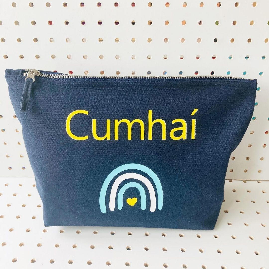 Boys Personalised Canvas Pouch Canvas Pouch StudioEight.ie
