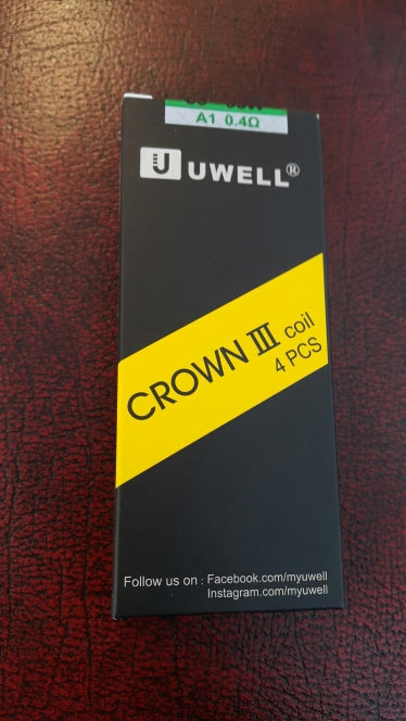 Uwell Crown III Coil 0.4ohm - 4 Pack