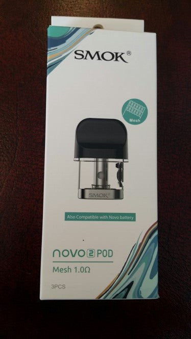 SMOK Novo 2 Cartridge 2ml 1ohm (Mesh) - 3 Pack