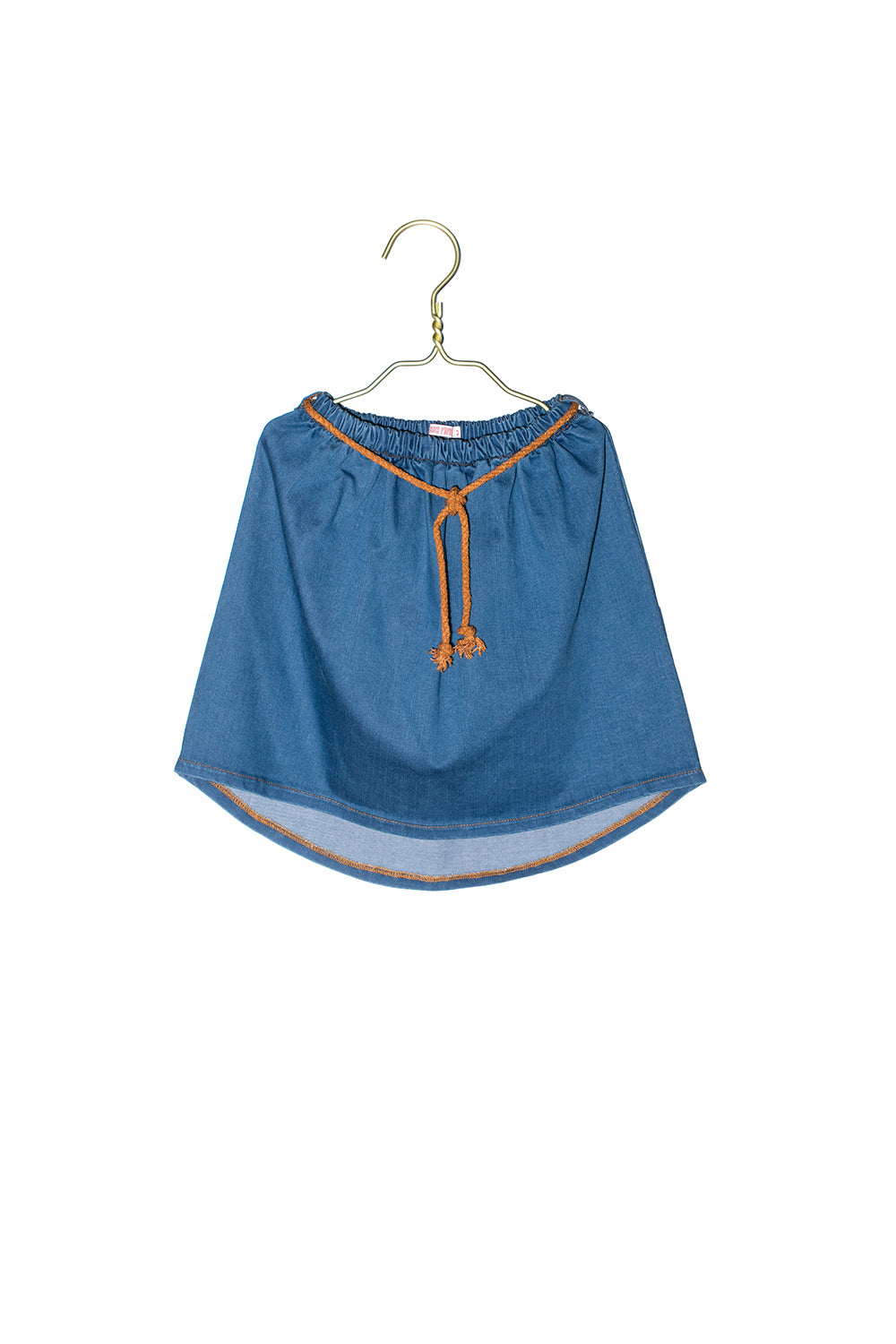 1520 Denim Blue Skirt