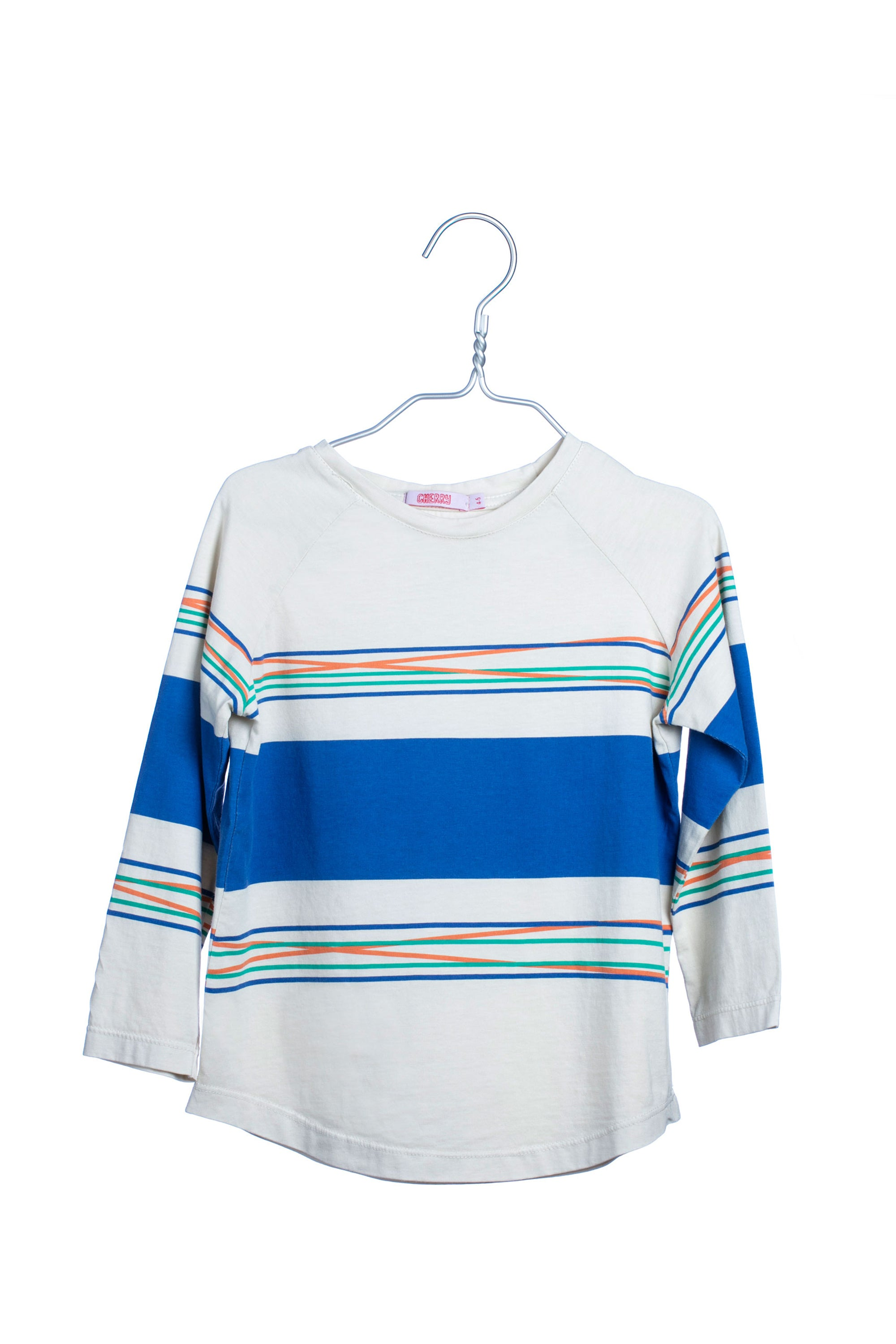 1705 Sketch Lines Long Sleeve - Blue