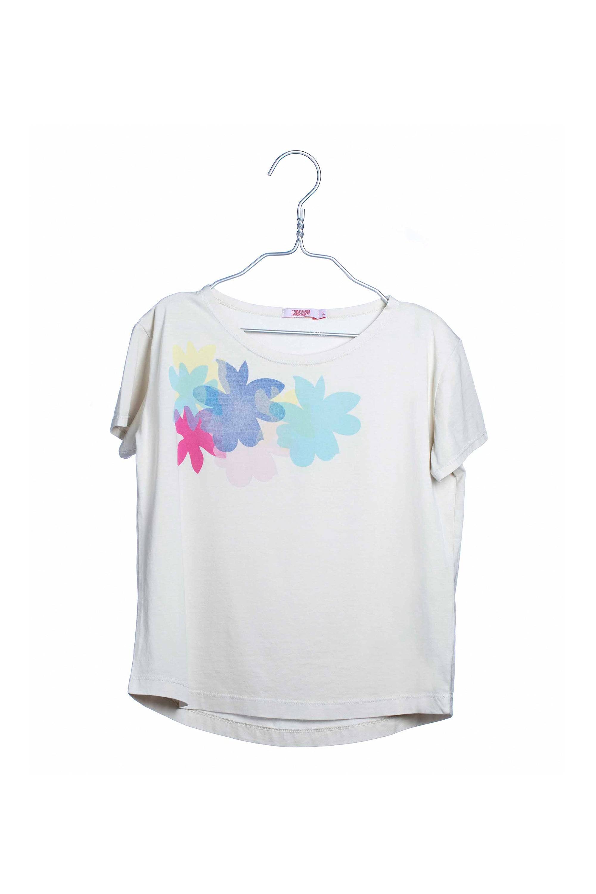 1708 Colorful Flowers Tee