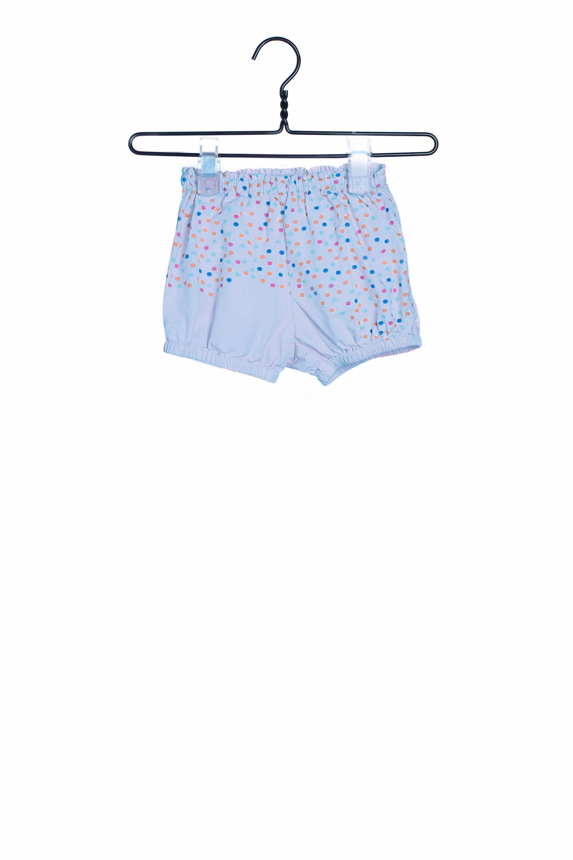 1749 Dots Shorties Blue