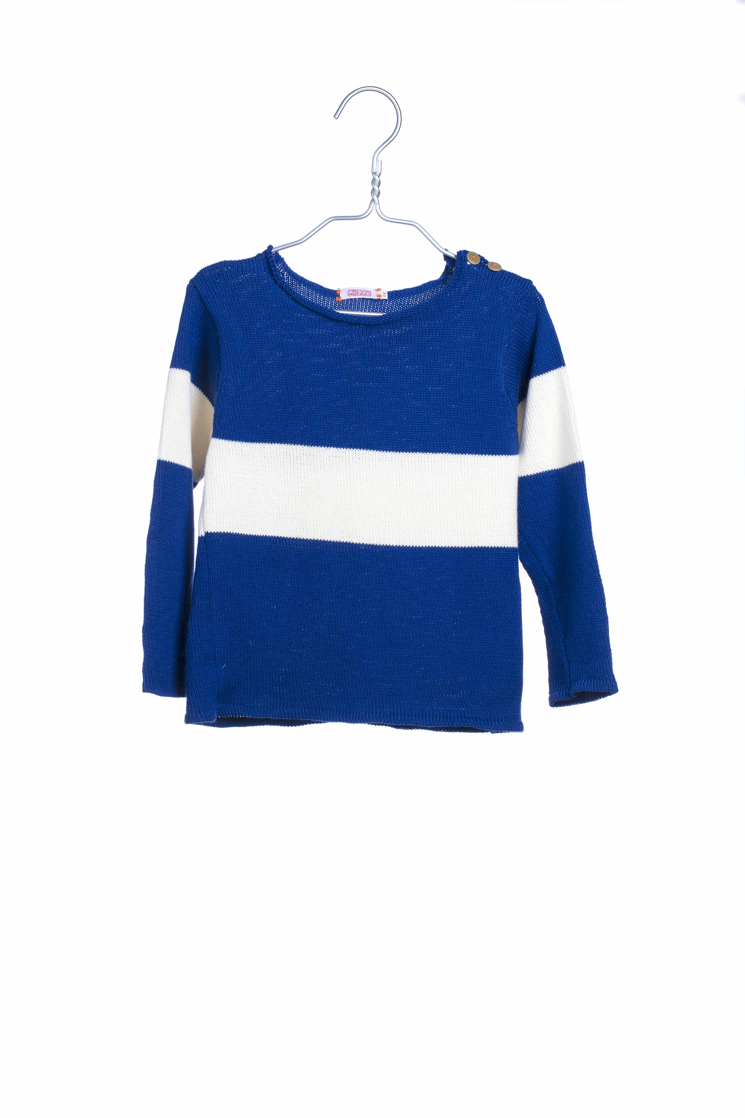 1733 Knit Sweat - Blue