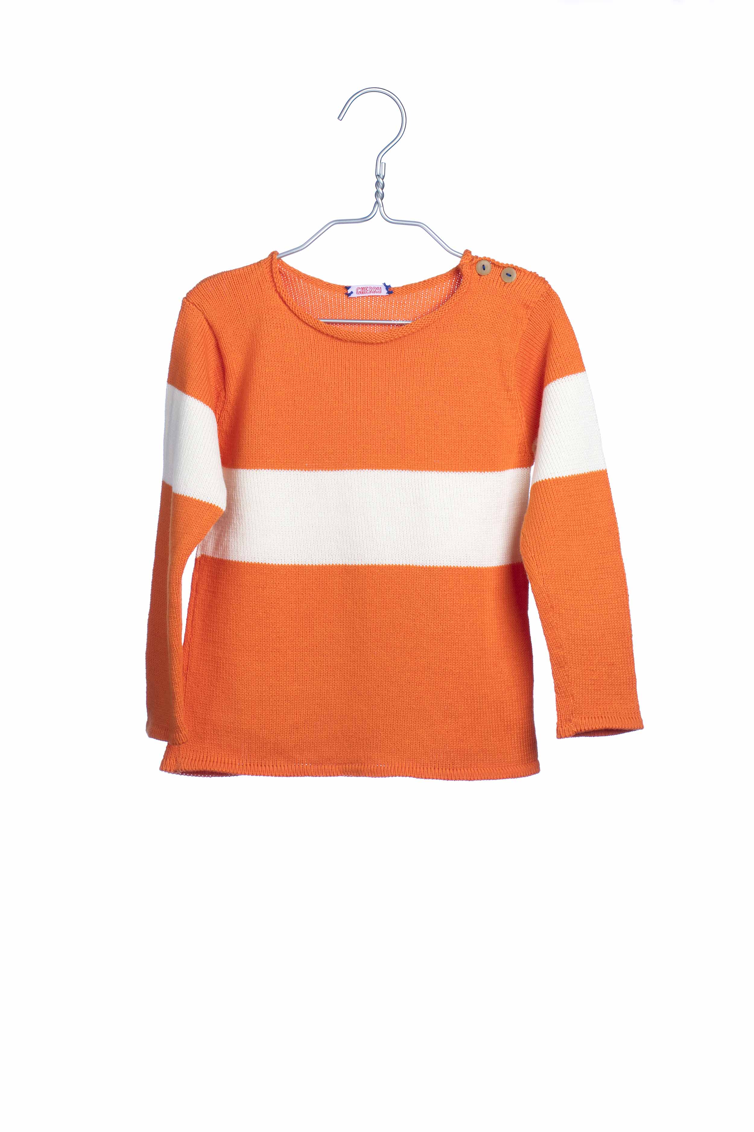1733 Knit Sweat - Orange