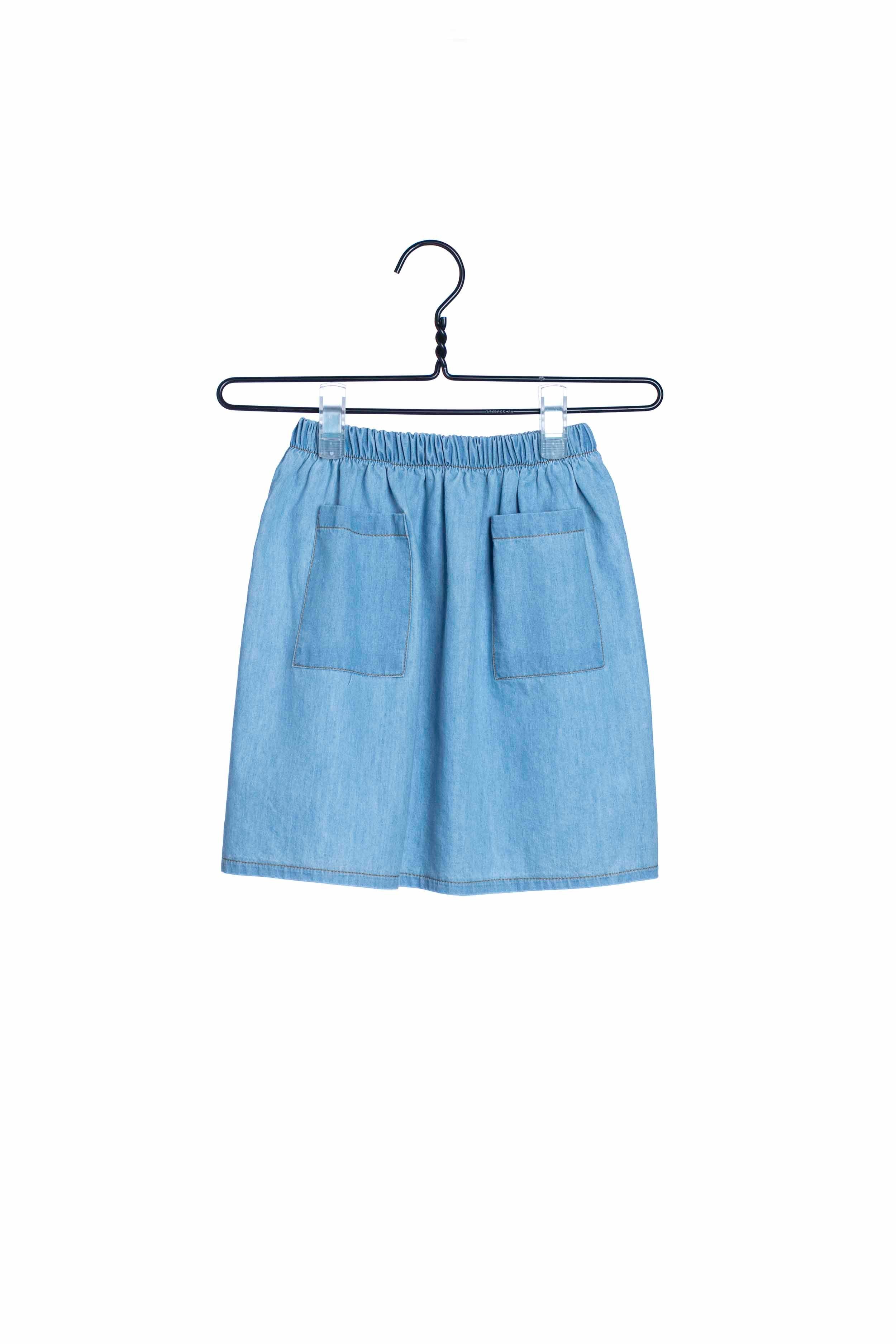1720 Denim Pocket Skirt