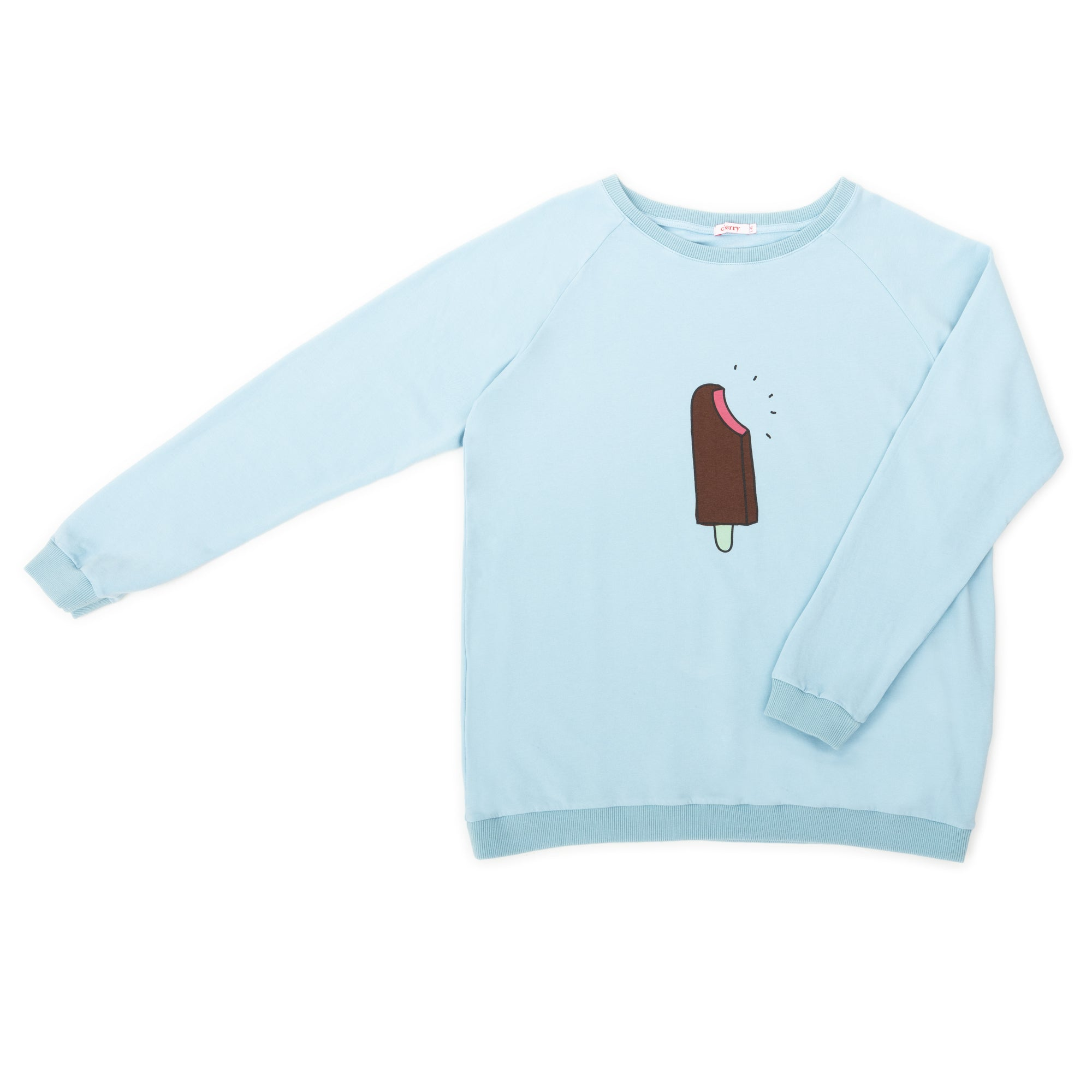 Ice Cream  Sweat Woman Blue