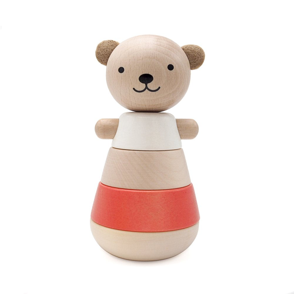 Stackable Coral Bear