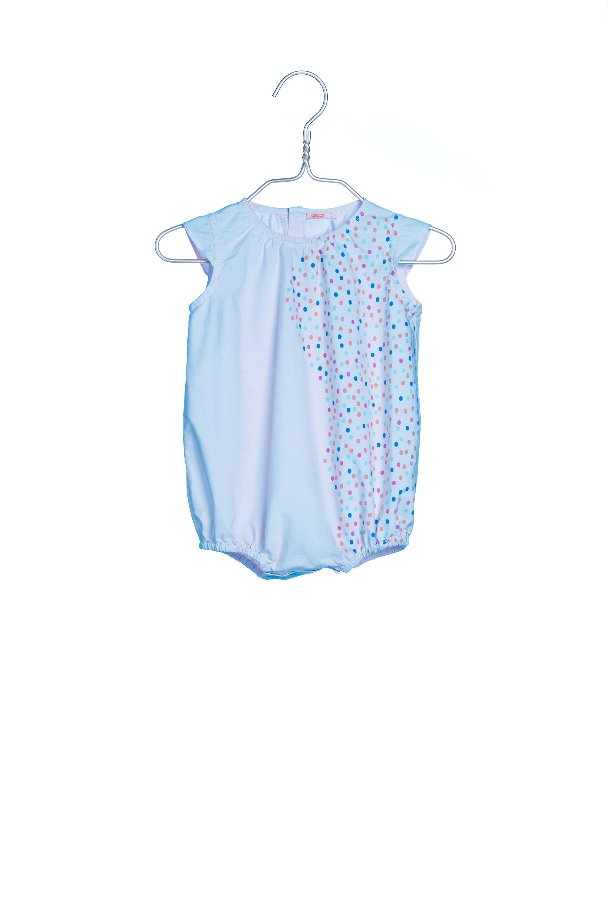 1748 Dots Overall Blue