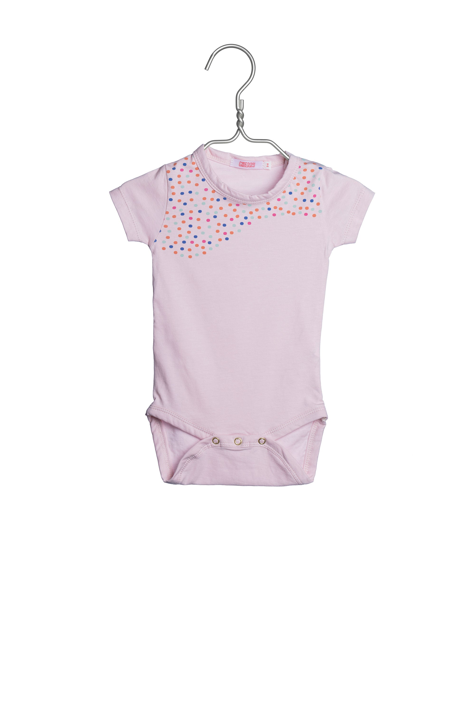 1747 Dots Body Pink