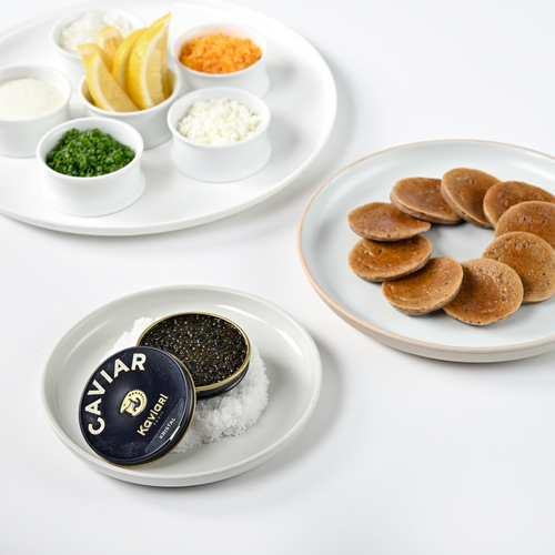 Caviar, Kaviari Kristal – Suitable for 2 people