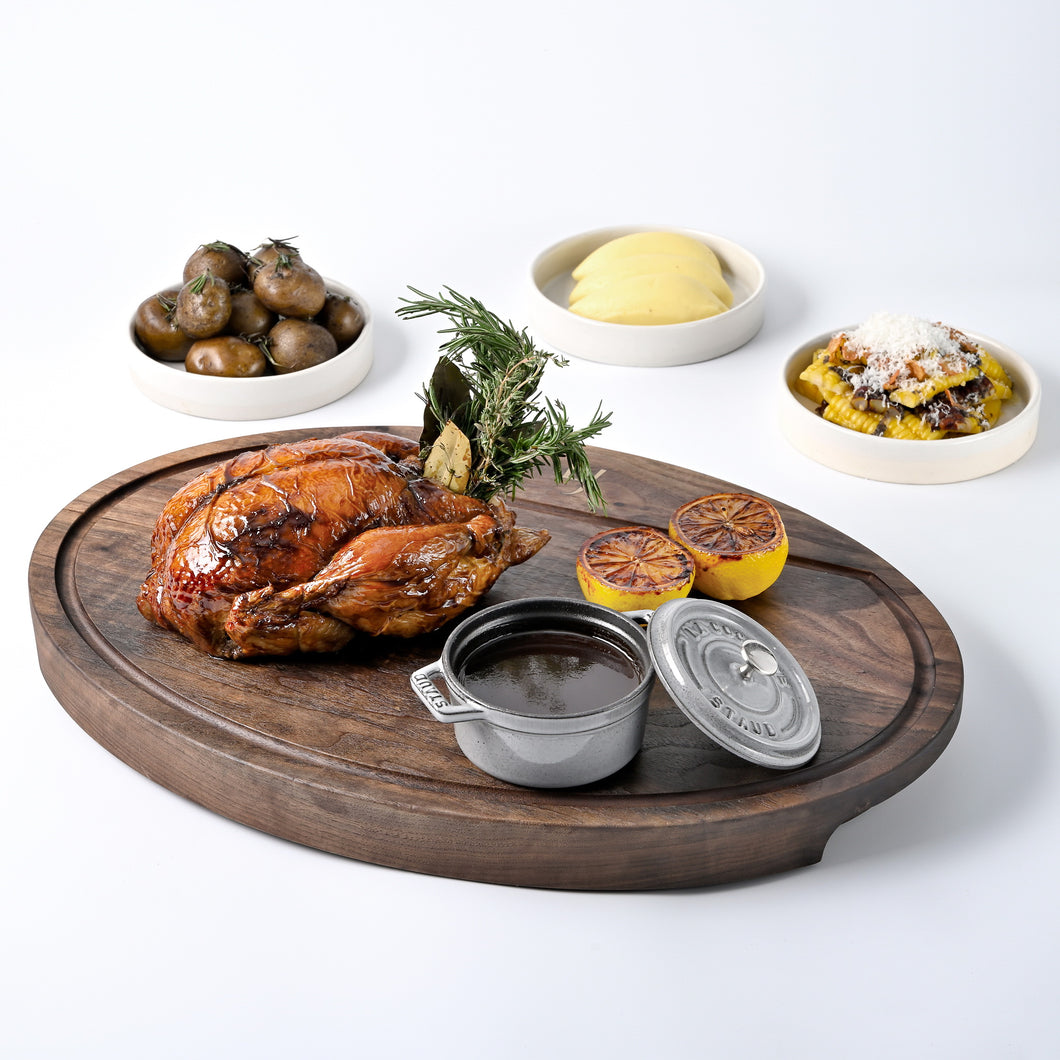 Lord Jim's Organic Chicken – with two sharing vegetable dishes