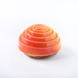 Peach and White Tea Choux