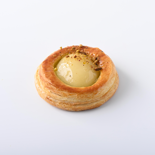 Pear and Pistachio Danish