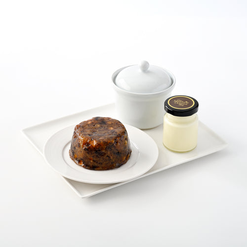 Christmas Pudding & Brandy Butter