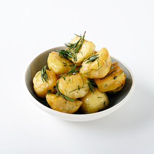 Roasted Idaho Potatoes, Brown Butter