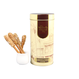 Cinnamon Stirrer with Stone Sugar 10 Sticks