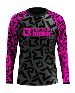 Little Rider Co 'Classic' Jersey - Hot Pink
