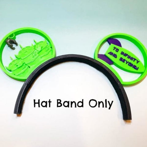 Interchangeable Hat System- Hat Band Base Only!