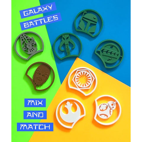 Galactic Battles Mix and Match Collection