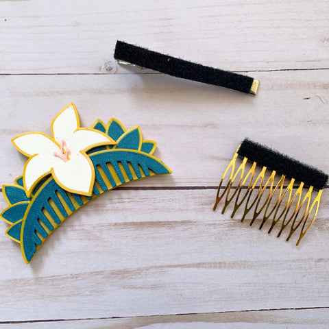 Warrior Princess Interchangeable Hair Comb