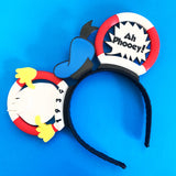 Sailor Cap Crown or Hair Clip