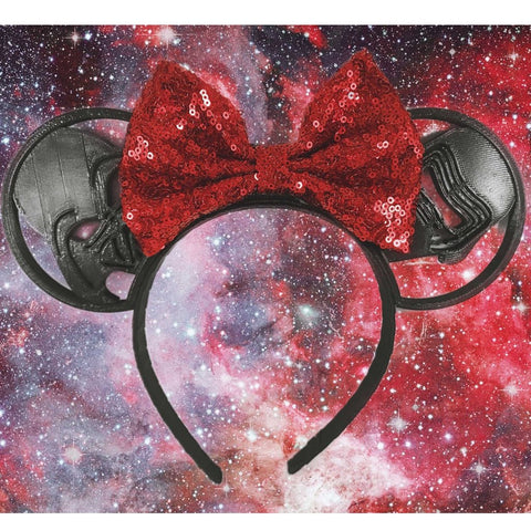 Double Trouble Mouse Ears-Mouse Ears-Scull Squared