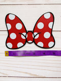 Polka Dot Minnie Interchangeable Bow or Hair Clip